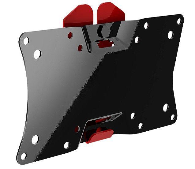 """Кронштейн для телевизора Holder LCDS-5060 черный глянец 19""""-32"""" макс.30кг настенный фиксированный"""
