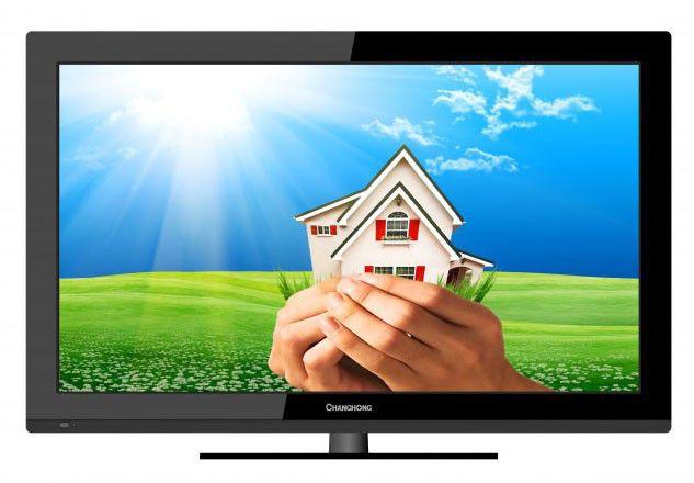 "Телевизор ЖК CHANGHONG 32A3500  ""R"", 32"", HD READY (720p),  черный"