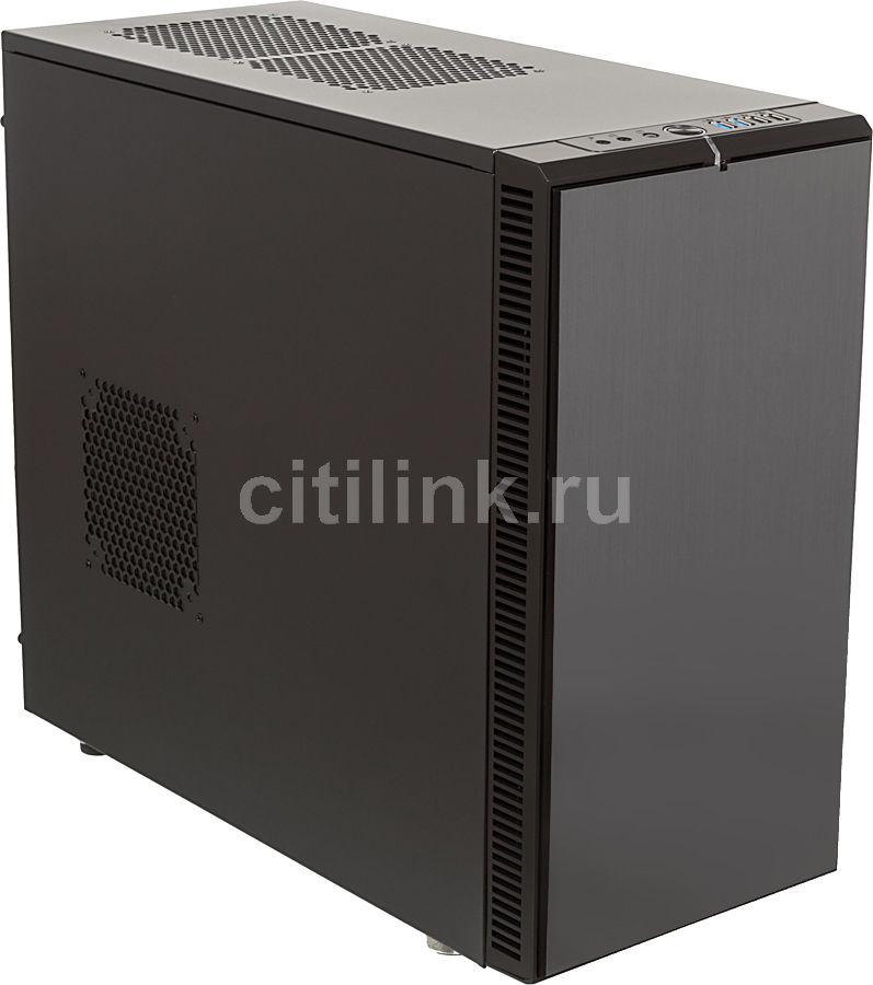 Корпус ATX FRACTAL DESIGN Define R4 Titanium, Midi-Tower, без БП,  черный и серый