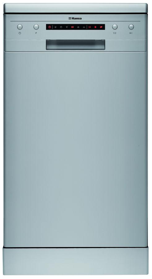 Посудомоечная машина HANSA ZWM476SEH,  узкая, серебристая [zwm 476 seh]