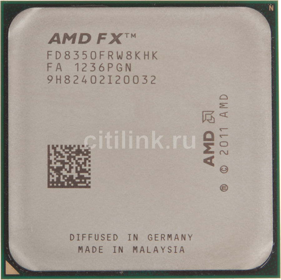 Процессор AMD FX 8350, SocketAM3+ OEM [fd8350frw8khk]