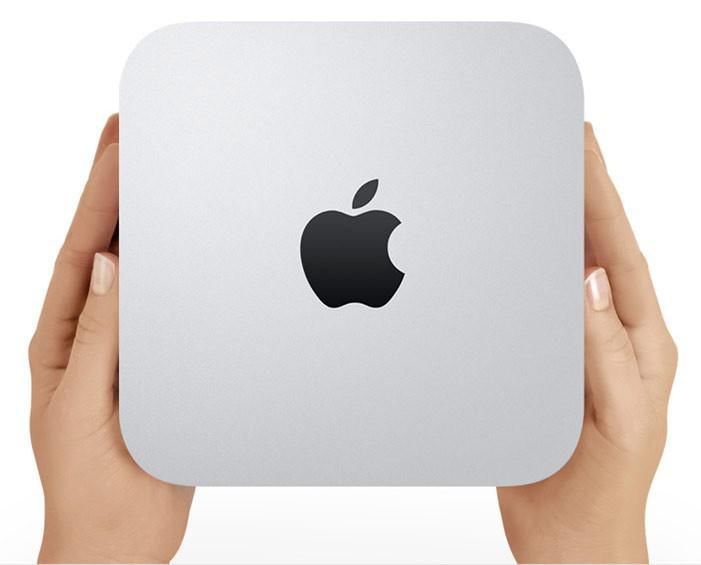 Компьютер  APPLE Mac mini MD388RS/A,  Intel  Core i7  DDR3 4Гб, 1000Гб,  Intel HD Graphics 4000,  без ODD,  CR,  Mac OS X,  серебристый