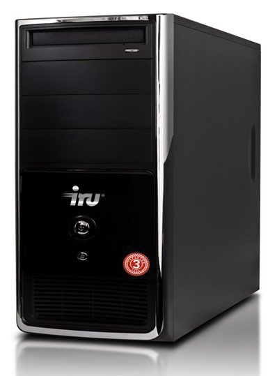 Компьютер  IRU Corp 315,  Intel  Pentium  G860,  DDR3 4Гб, 500Гб,  DVD-RW,  noOS,  черный