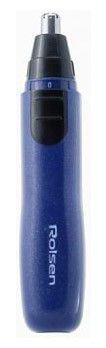Триммер ROLSEN TR1102,  синий/серебристый