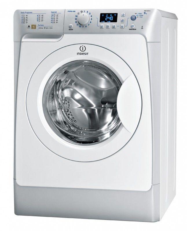Стиральная машина INDESIT PWE 91273 S (EU), фронтальная загрузка,  белый