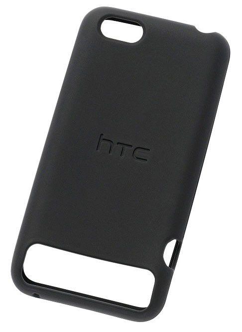 Чехол (клип-кейс) HTC SC S750, для HTC One V, черный