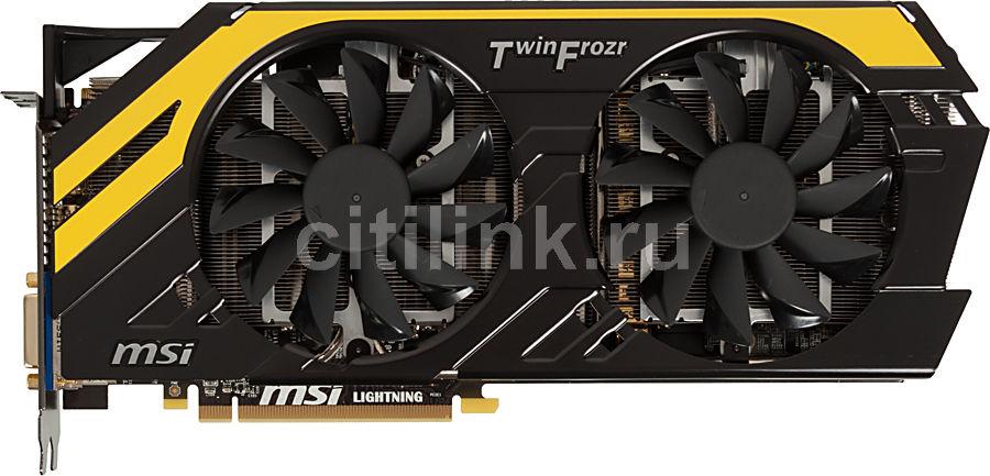 Видеокарта MSI Radeon HD 7970,  3Гб, GDDR5, OC,  Ret [r7970 lightning be]