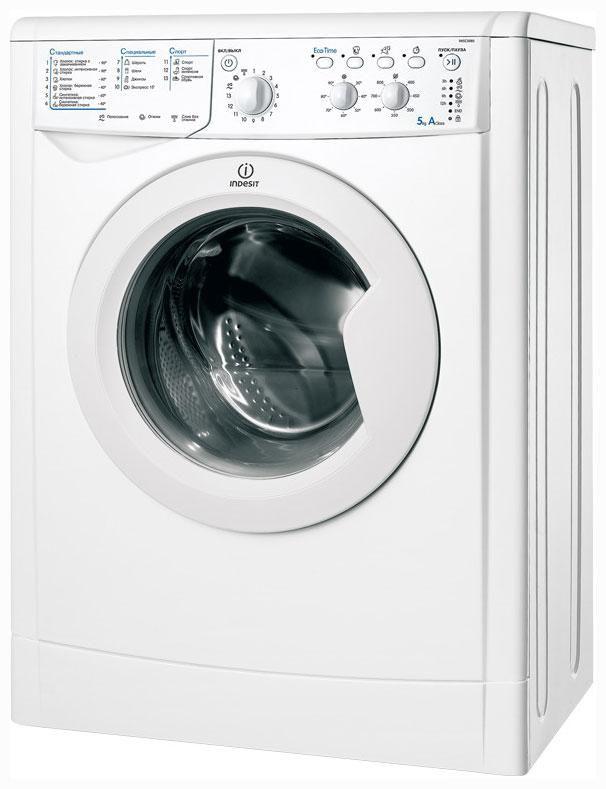 Стиральная машина INDESIT IWSC 5085 CIS.C, фронтальная загрузка,  белый