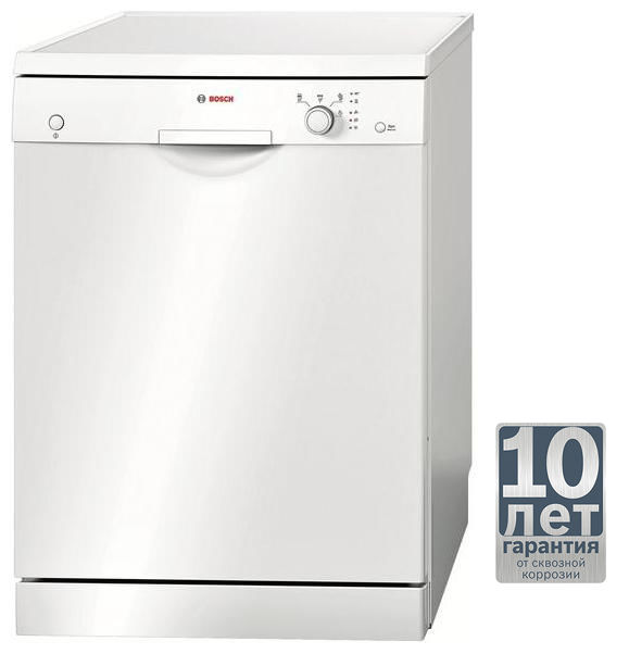 Посудомоечная машина BOSCH SMS40D02RU,  полноразмерная, белая
