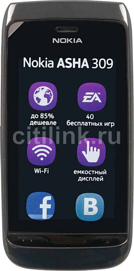 Мобильный телефон NOKIA 309 черный