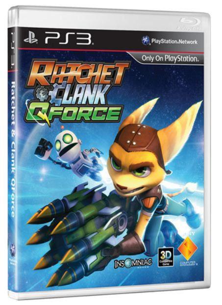 Игра SOFT CLUB Ratchet & Clank: QForce для  PlayStation3 Rus