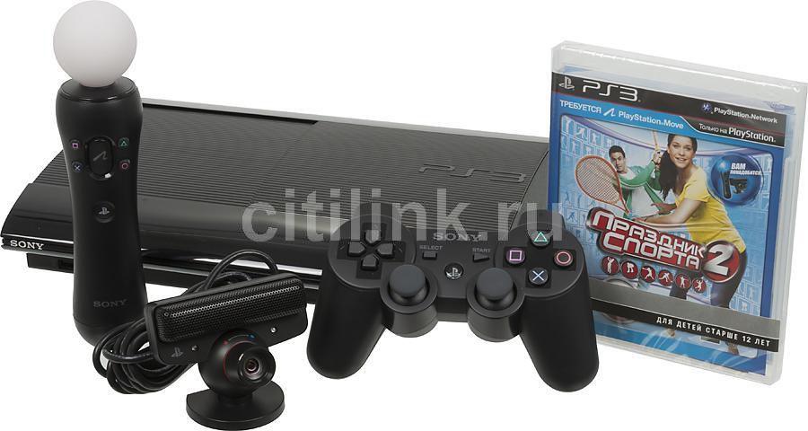 Игровая консоль SONY PlayStation 3 PS719285946, черный