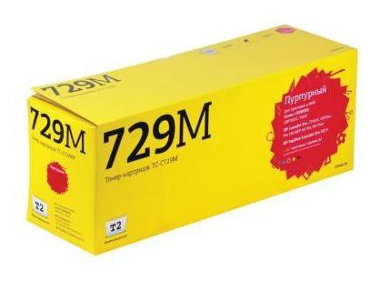 Картридж T2 TC-C729M пурпурный