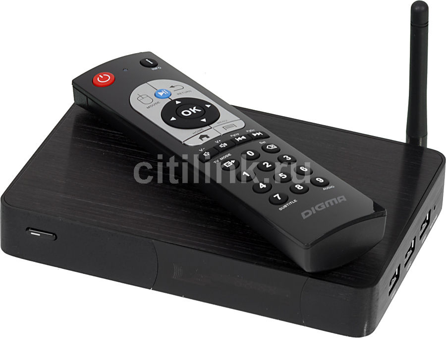 Медиаплеер DIGMA HDMP-605,  черный