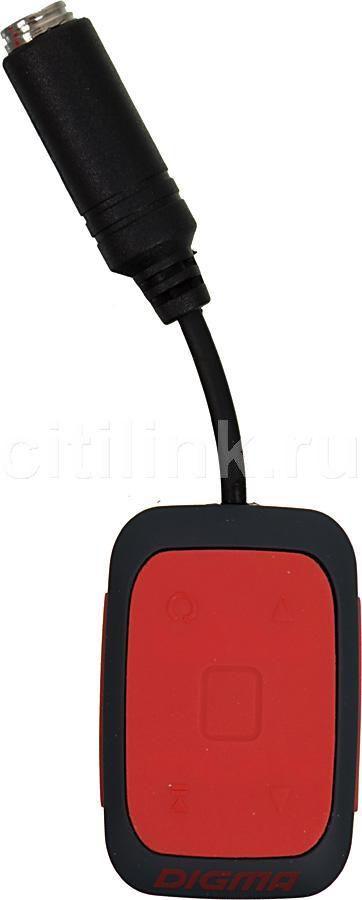 MP3 плеер DIGMA Deep flash 4Гб оранжевый/черный