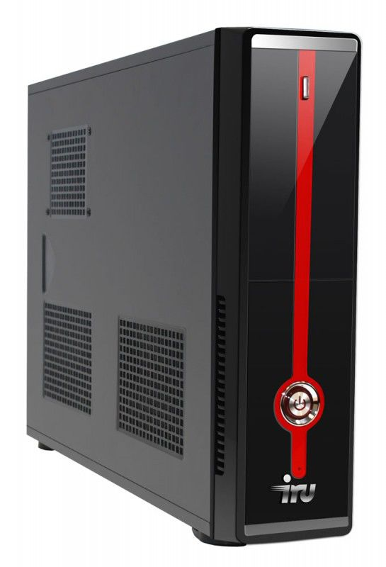 Компьютер  IRU Corp 310,  Intel  Atom  D2700,  DDR3 2Гб, 500Гб,  Intel GMA 3650,  DVD-RW,  Free DOS,  черный