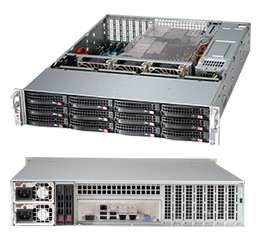 Корпус SuperMicro CSE-826BE16-R920LPB 2U