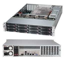 Корпус SuperMicro CSE-826BE16-R920LPB 2U серверный корпус 2u supermicro cse 216be16 r920lpb 920 вт чёрный