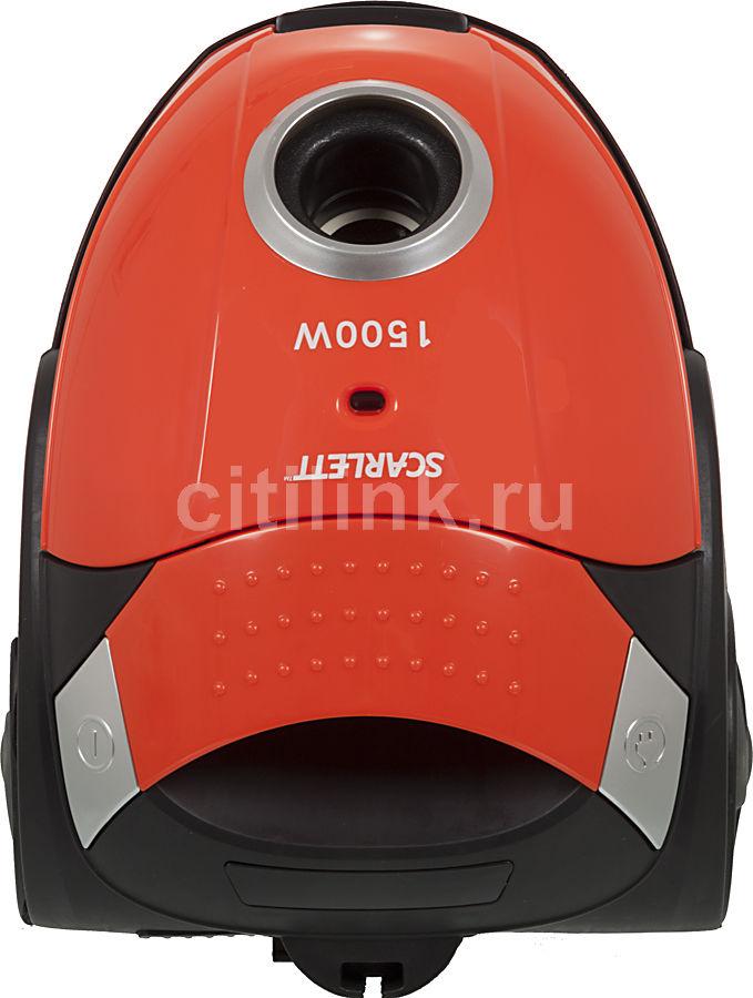 Пылесос SCARLETT SC-080, 1500Вт, оранжевый