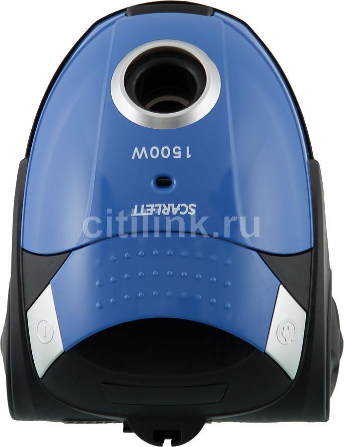 Пылесос SCARLETT SC-080, 1500Вт, голубой