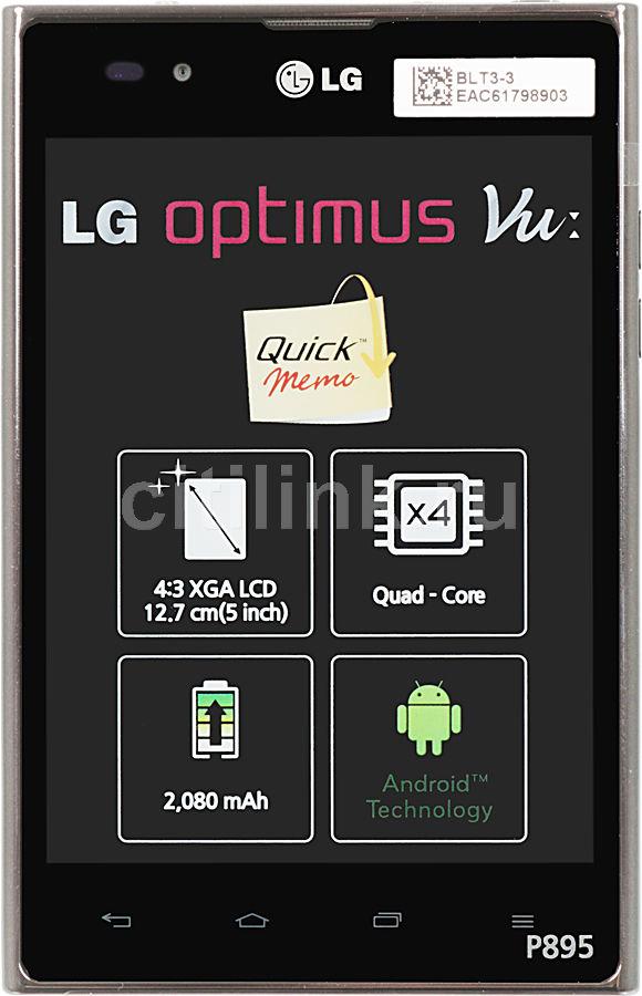 Смартфон LG Optimus Vu P895  черный