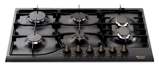 Варочная поверхность HOTPOINT-ARISTON PH 760 F AN,  независимая,  черный
