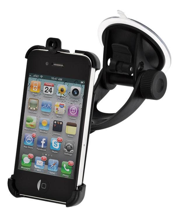 Держатель IGRIP Perfect Fit,  Apple iPhone 4/4S,  черный [t6-90503]