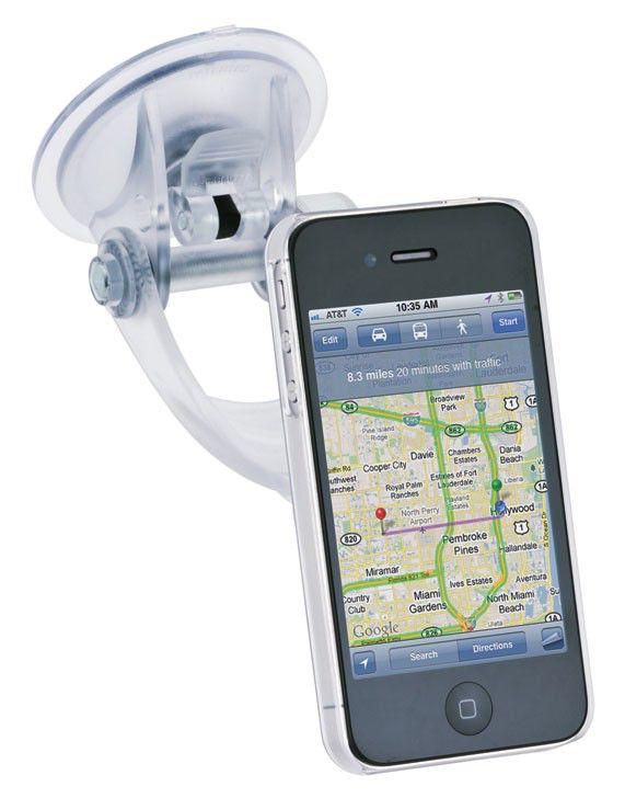Держатель IGRIP Clear Case Traveler T5-300183,  Apple iPhone 4/4S,  белый