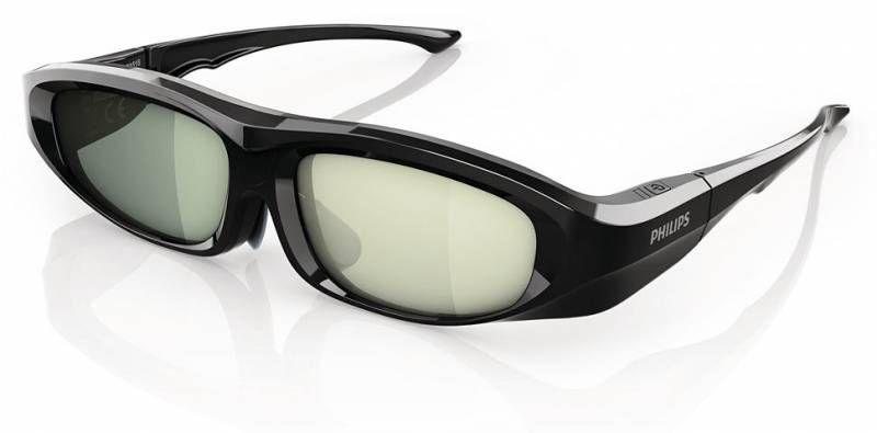Очки 3D PHILIPS PTA518/00,  1 шт,  черный