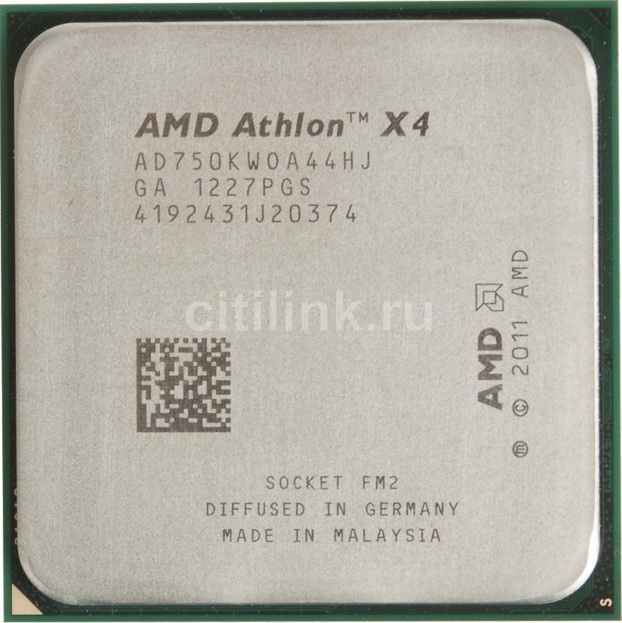 Процессор AMD Athlon X4 750K, SocketFM2,  OEM [ad750kwoa44hj]