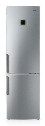 Холодильник LG GW-B499BLQZ,  двухкамерный,  серебристый