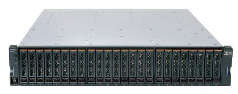 Система хранения IBM Storwize V3700 (2072S2C) SFF Dual Control Enclosure 24xBay SAS HS 2.5