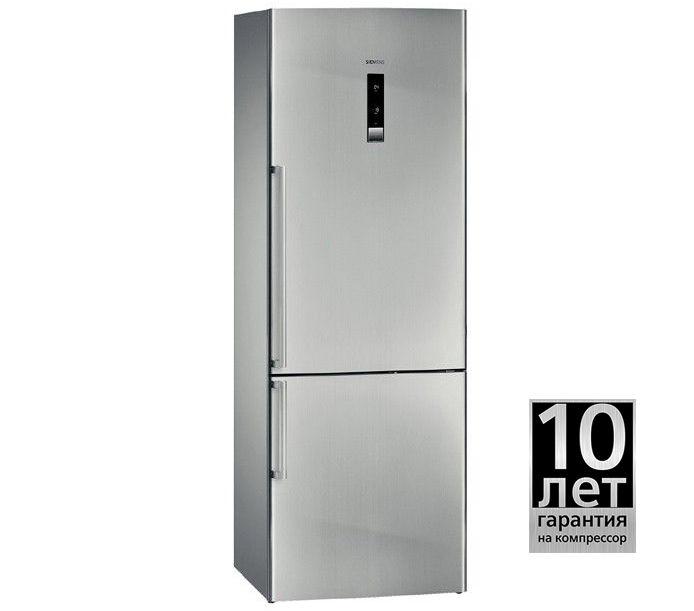 Холодильник SIEMENS KG49NAZ22R,  двухкамерный,  серебристый