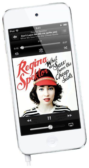 Плеер Apple iPod Touch 32Gb MD723 черный