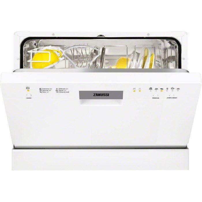Посудомоечная машина ZANUSSI ZSF2415,  компактная, белая