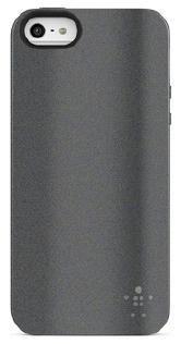 Чехол (клип-кейс) BELKIN F8W126vfC01, для Apple iPhone 5, серый
