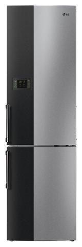 Холодильник LG GW-B499BNQW,  двухкамерный,  серебристый