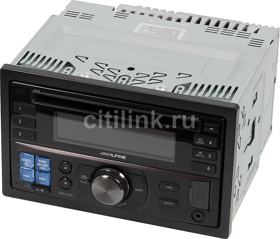 Автомагнитола ALPINE CDE-W233R,  USB