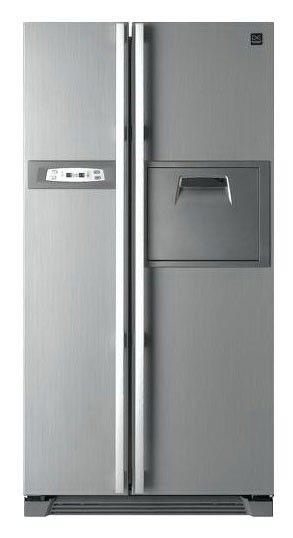Холодильник DAEWOO FRS-U20HES,  двухкамерный,  серебристый