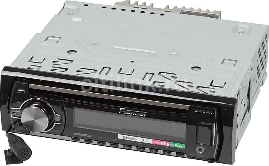 Автомагнитола PIONEER DEH-X5500BT,  USB