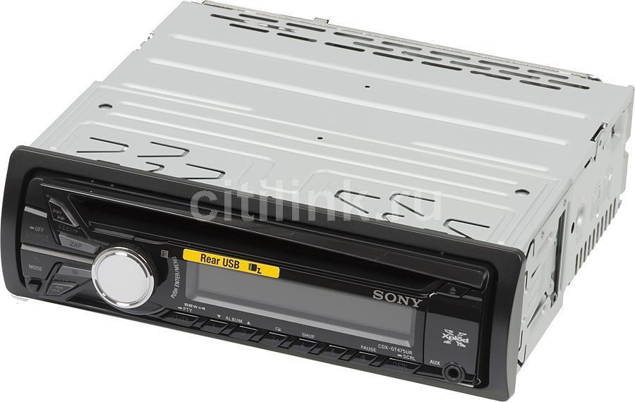 Автомагнитола SONY CDX-GT475UR,  USB