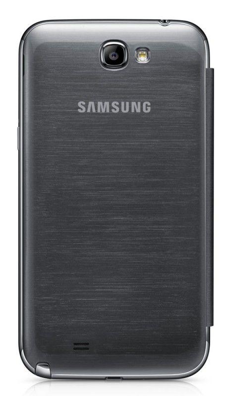 Чехол (флип-кейс) SAMSUNG EFC-1J9FSEGSTD, для Samsung Note II, серебристый