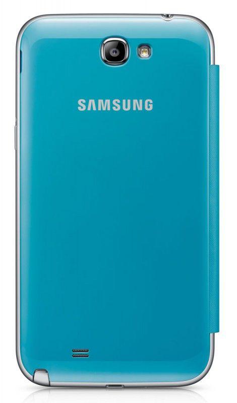 Чехол (флип-кейс) SAMSUNG EFC-1J9FBEGSTD, для Samsung Note II, синий