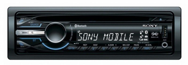 Автомагнитола SONY MEX-BT3900U,  USB