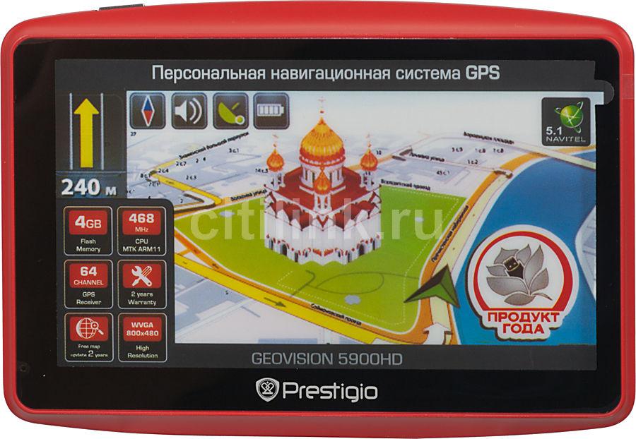 GPS навигатор PRESTIGIO GeoVision 5900,  5