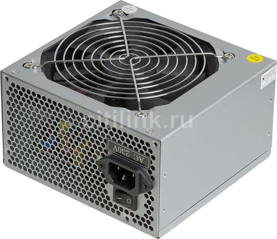 Блок питания Hipro ATX 500W HPA500 (24+4+4pin) APFC 6*SATA I/O switch (Hipower) (отремонтированный)