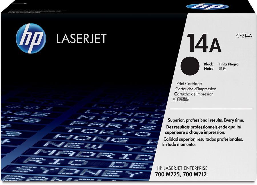 Картридж HP 14A CF214A,  черный