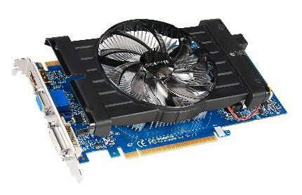 Видеокарта GIGABYTE GeForce GTX 550Ti,  1Гб, GDDR5, oem [gv-n550d5-1gi bulk]