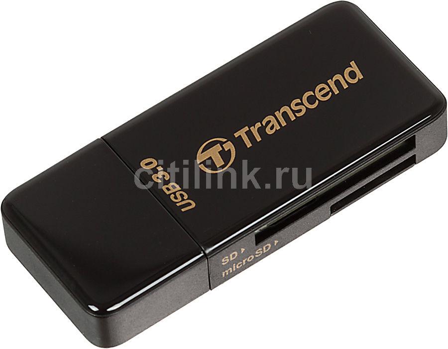 Картридер внешний TRANSCEND TS-RDF5K, черный