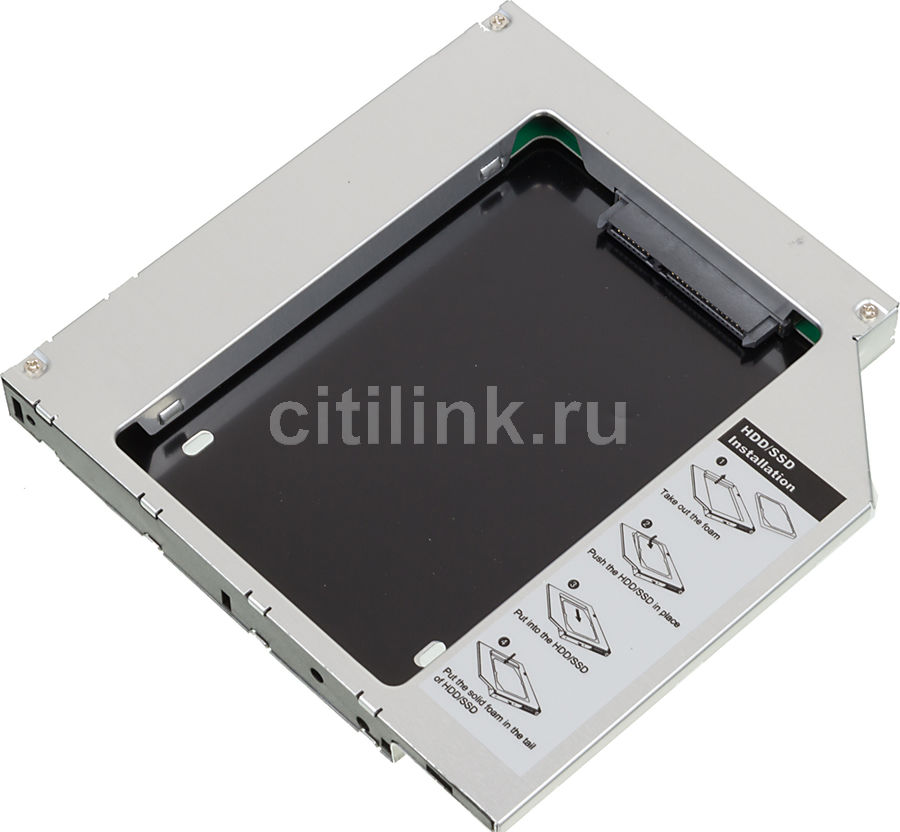 Mobile rack (салазки) для HDD AGESTAR SSMR2S SATA-SATA, серебристый mobile rack orico 1106ss sata black